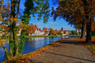 Ulm City in Baden Wurttemberg and Bayern Wallpaper for Android, iPhone and iPad