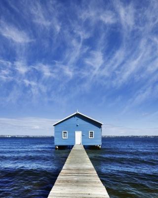 Blue Pier House - Obrázkek zdarma pro iPhone 3G