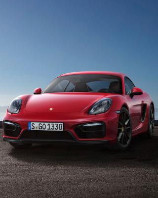 Porsche Cayman GTS 2015 - Obrázkek zdarma pro 240x432
