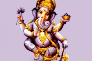Ganesh Chaturthi - Obrázkek zdarma pro 480x320
