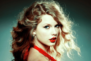 Taylor Swift In Red Dress Picture for Android, iPhone and iPad