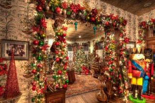 New Year House Decorations and Design - Obrázkek zdarma