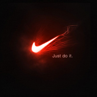 Nike Advertising Slogan Just Do It - Obrázkek zdarma pro iPad mini 2