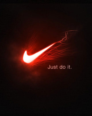 Nike Advertising Slogan Just Do It - Obrázkek zdarma pro 320x480