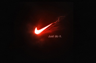 Nike Advertising Slogan Just Do It - Obrázkek zdarma pro Nokia Asha 201