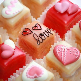 Love Candies - Obrázkek zdarma pro iPad mini