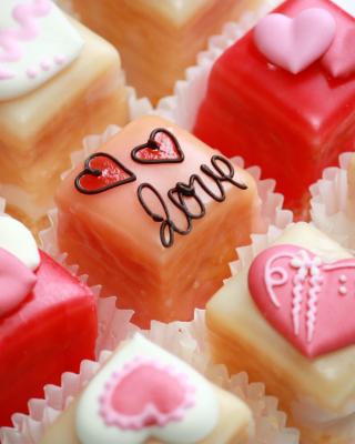 Love Candies - Obrázkek zdarma pro Nokia Asha 300