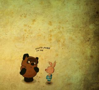 Russian Winnie The Pooh - Obrázkek zdarma pro iPad