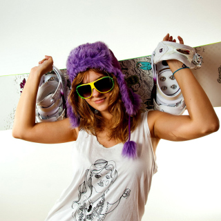 Snowboard Equipment - Obrázkek zdarma pro 128x128