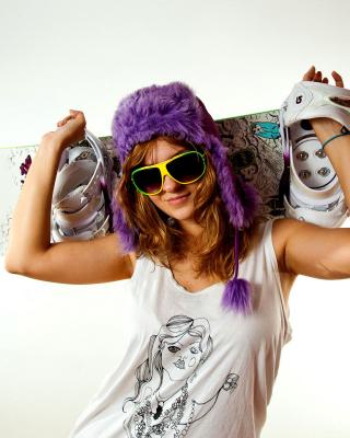 Snowboard Equipment - Obrázkek zdarma pro Nokia Asha 305