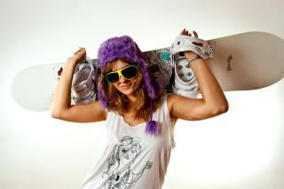 Snowboard Equipment - Obrázkek zdarma pro Motorola DROID