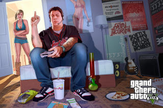 Grand Theft Auto V Jimmy Gamer - Fondos de pantalla gratis Stub device