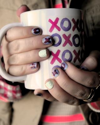 Xoxo Cup - Obrázkek zdarma pro iPhone 4S