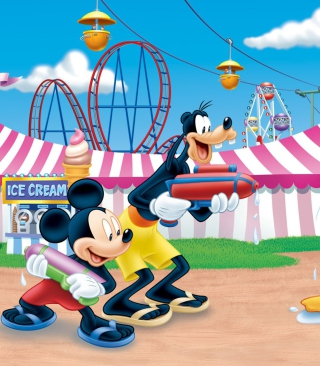 Mickey - Obrázkek zdarma pro Nokia C6