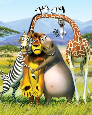 Madagascar - Obrázkek zdarma pro Nokia C3-01 Gold Edition