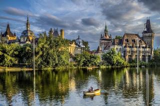 Vajdahunyad Castle in Budapest - Obrázkek zdarma pro Desktop 1920x1080 Full HD