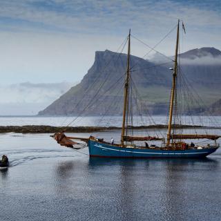 Bay Faroe Islands, Denmark - Obrázkek zdarma pro 2048x2048