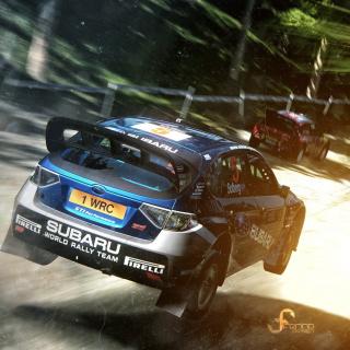 Gran Turismo 5 Rally Game - Obrázkek zdarma pro iPad mini 2