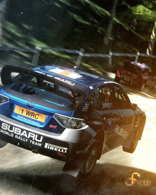 Gran Turismo 5 Rally Game - Obrázkek zdarma pro Nokia X7