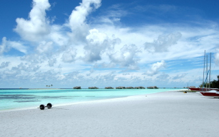 Maldives Background for Android, iPhone and iPad