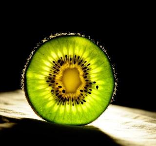 Kiwi Slice - Obrázkek zdarma pro 128x128