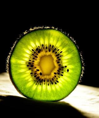 Kiwi Slice - Obrázkek zdarma pro iPhone 4S
