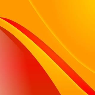 Bends orange lines - Obrázkek zdarma pro iPad 2