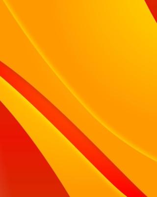 Bends orange lines - Obrázkek zdarma pro Nokia X1-00