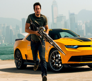 Mark Wahlberg In Transformers - Obrázkek zdarma pro 320x320