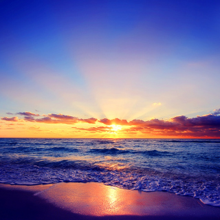 Romantic Sea Sunset - Obrázkek zdarma pro iPad mini 2