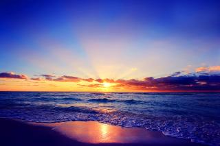 Romantic Sea Sunset - Obrázkek zdarma pro HTC Wildfire