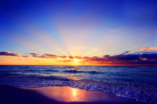 Romantic Sea Sunset - Obrázkek zdarma pro Samsung Galaxy