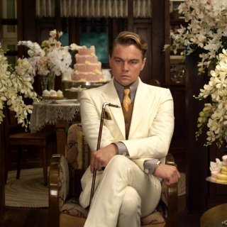 Leonardo DiCaprio from The Great Gatsby Movie - Obrázkek zdarma pro 1024x1024