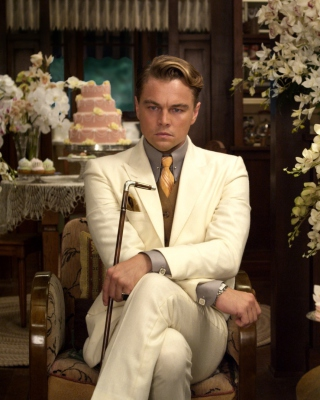 Leonardo DiCaprio from The Great Gatsby Movie - Obrázkek zdarma pro 480x640