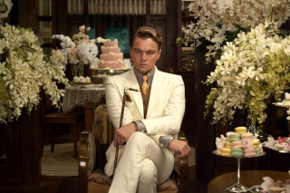 Leonardo DiCaprio from The Great Gatsby Movie - Obrázkek zdarma pro 1366x768