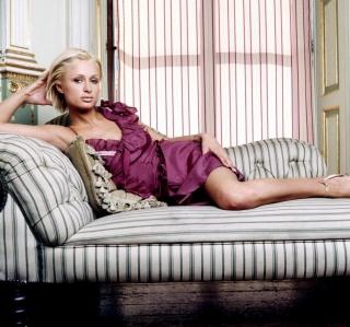 Paris Hilton - Obrázkek zdarma pro iPad 2