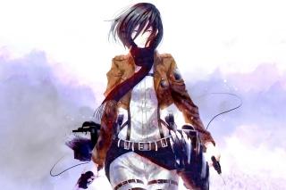 Картинка Mikasa Ackerman для андроида