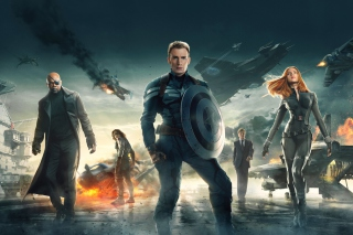 Captain America The Winter Soldier 2014 - Obrázkek zdarma pro Widescreen Desktop PC 1600x900