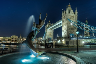 Tower Bridge in London - Fondos de pantalla gratis para Blackberry RIM Curve 9360