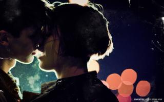 Kiss Of Love - Obrázkek zdarma pro 320x240