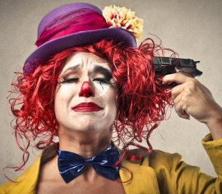 Sad Clown - Obrázkek zdarma pro iPad mini