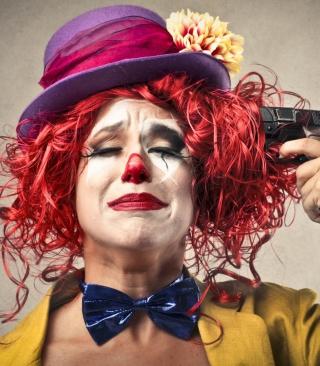Sad Clown - Obrázkek zdarma pro 360x640