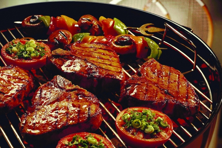 Barbecue and Grilling Meats wallpaper