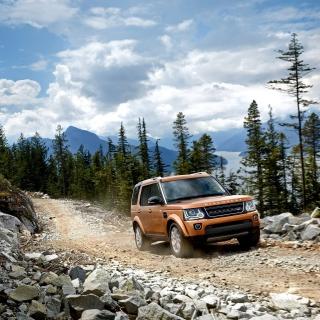 Land Rover Discovery - Obrázkek zdarma pro iPad mini 2