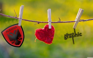 Albanian Love Wallpaper for Android, iPhone and iPad