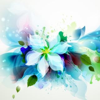 Drawn flower petals - Obrázkek zdarma pro 1024x1024