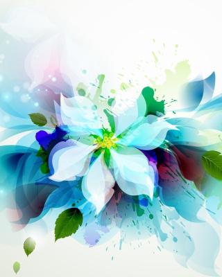 Drawn flower petals - Obrázkek zdarma pro Nokia C6-01