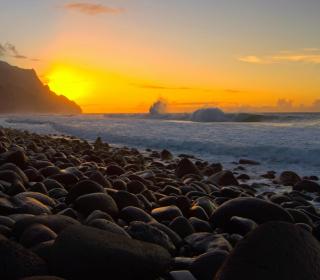 Kalalau Beach in Hawaii - Obrázkek zdarma pro iPad mini