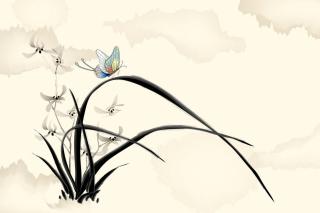 Butterfly Picture - Obrázkek zdarma pro Sony Tablet S