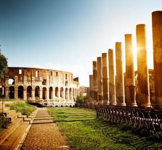 Rome - Amphitheater Colosseum - Obrázkek zdarma pro iPad 2